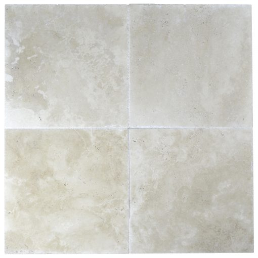 super light brushed and chiseled travertine tile 18x18 -Travertine sales-Atantic Stone Source
