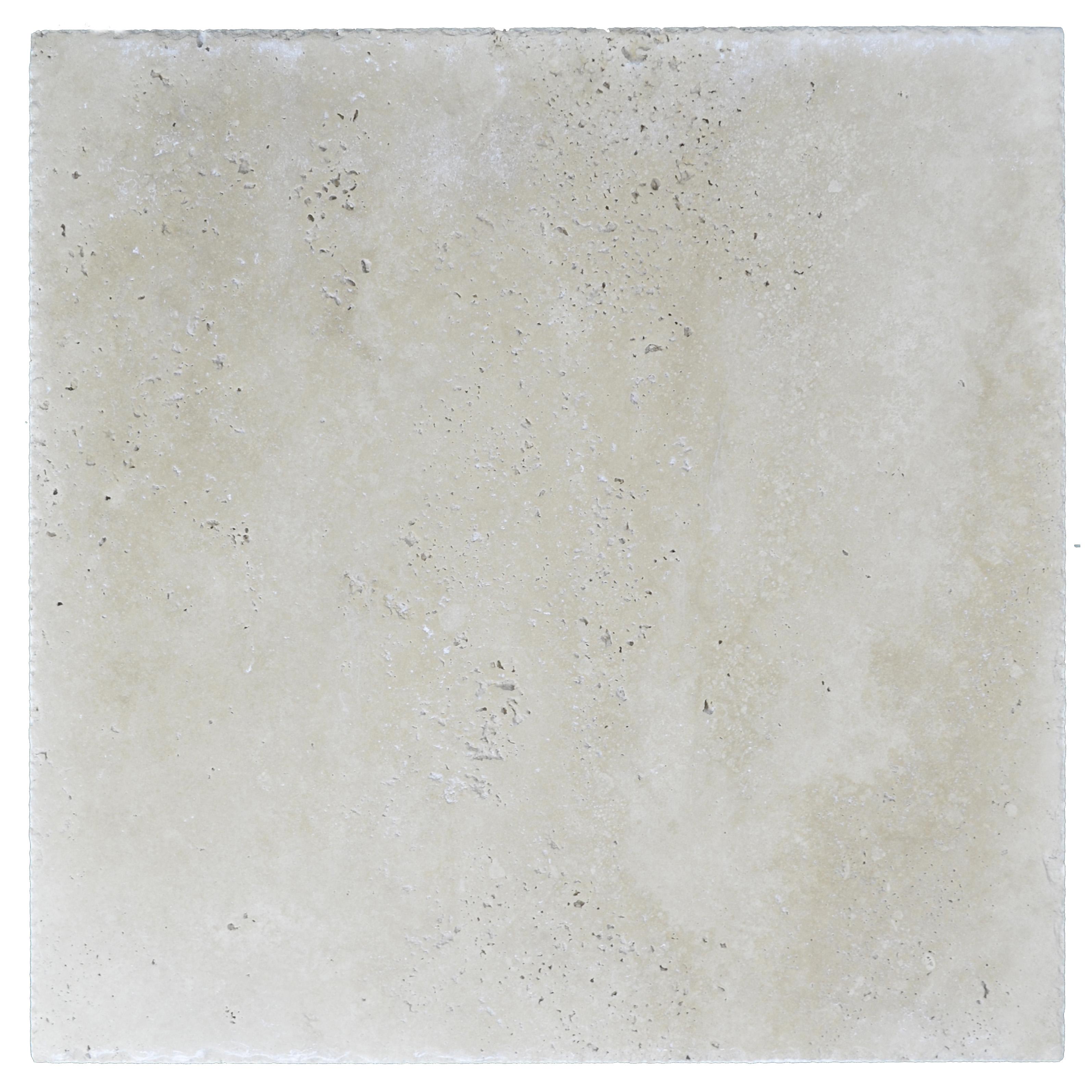 Super Light Brushed Chiseled Travertine Tiles 18x18 -Travertine sales-Atantic Stone Source