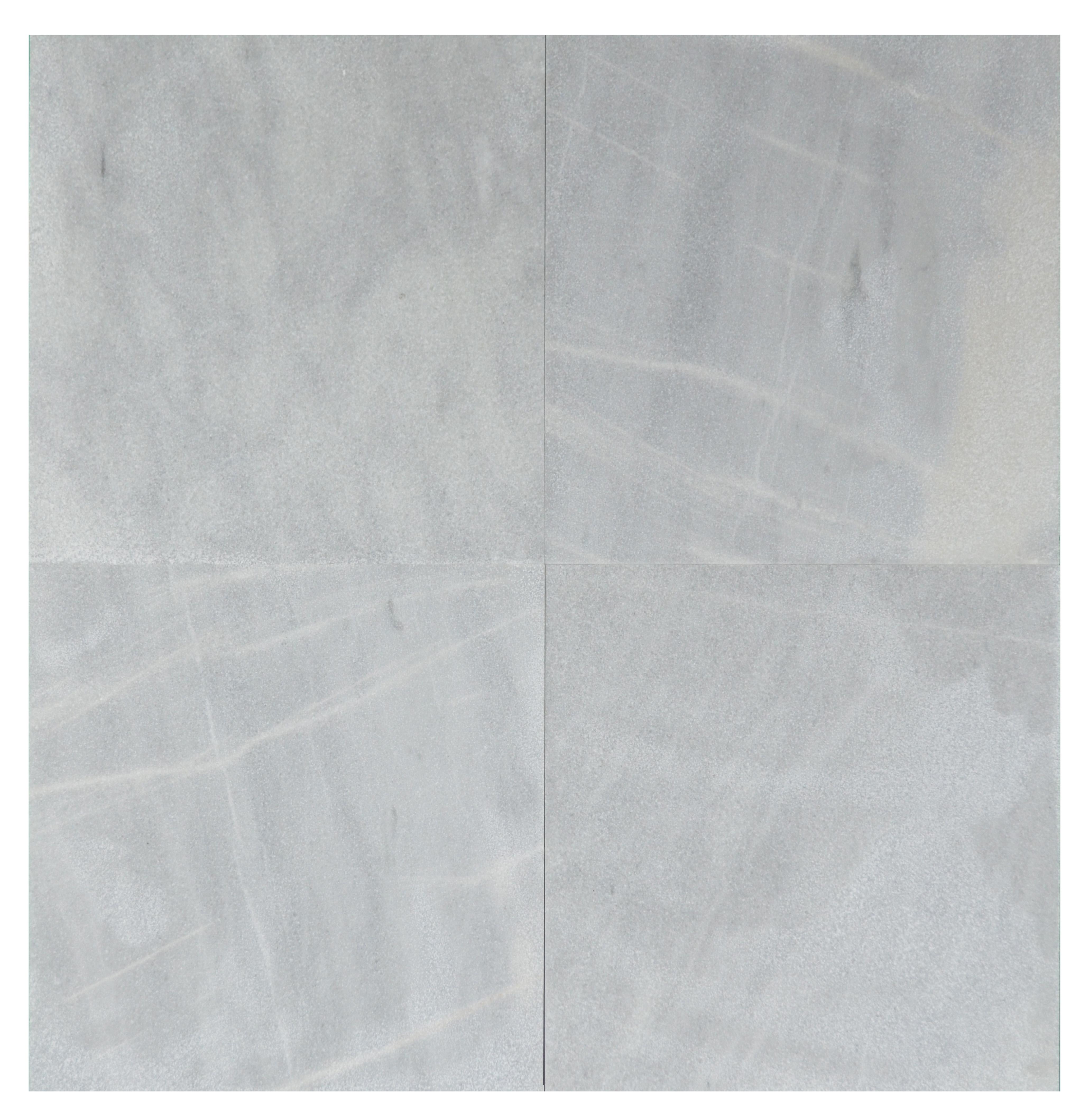 white fume sandblasted marble tiles 18x18 -marble sale-Atlantic Stone Source (2)