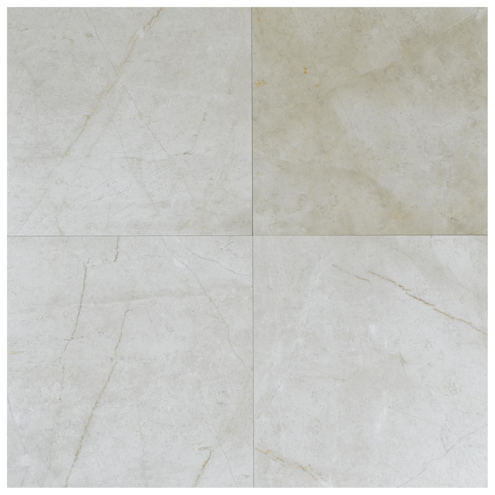 Cream Nouva Polished Marble Tiles 35x35-marble sale-Atlantic Stone Source