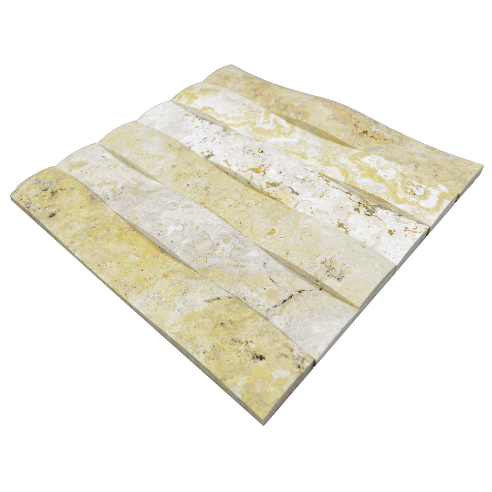 Gold Travertine Bullnose Honed Molding-moldings sale-Atlantic Stone Source