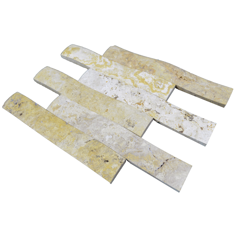 Gold Travertine Bullnose Honed Molding-moldings sale-Atlantic Stone Source