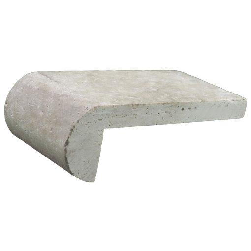 Toscana Remodel Travertine Pool Copings 6x12-pool copings sale-Atlantic Stone Source