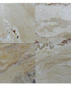 Leonardo Honed Filled Travertine Tiles 18×18