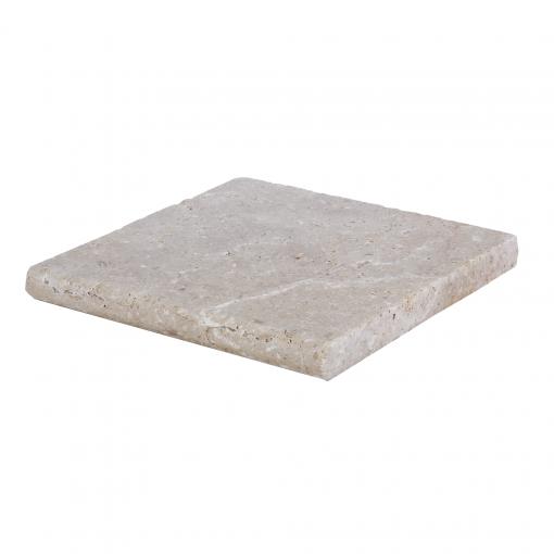 Toscana bullnose travertine pool coping 12x12-pool copings sale-Atlantic Stone Source