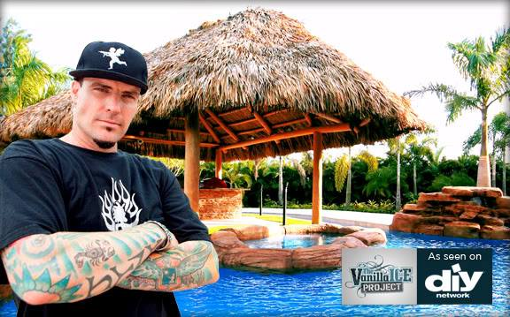 Pool pavers - The Vanilla Ice Project - DYI Network - HGTV Network