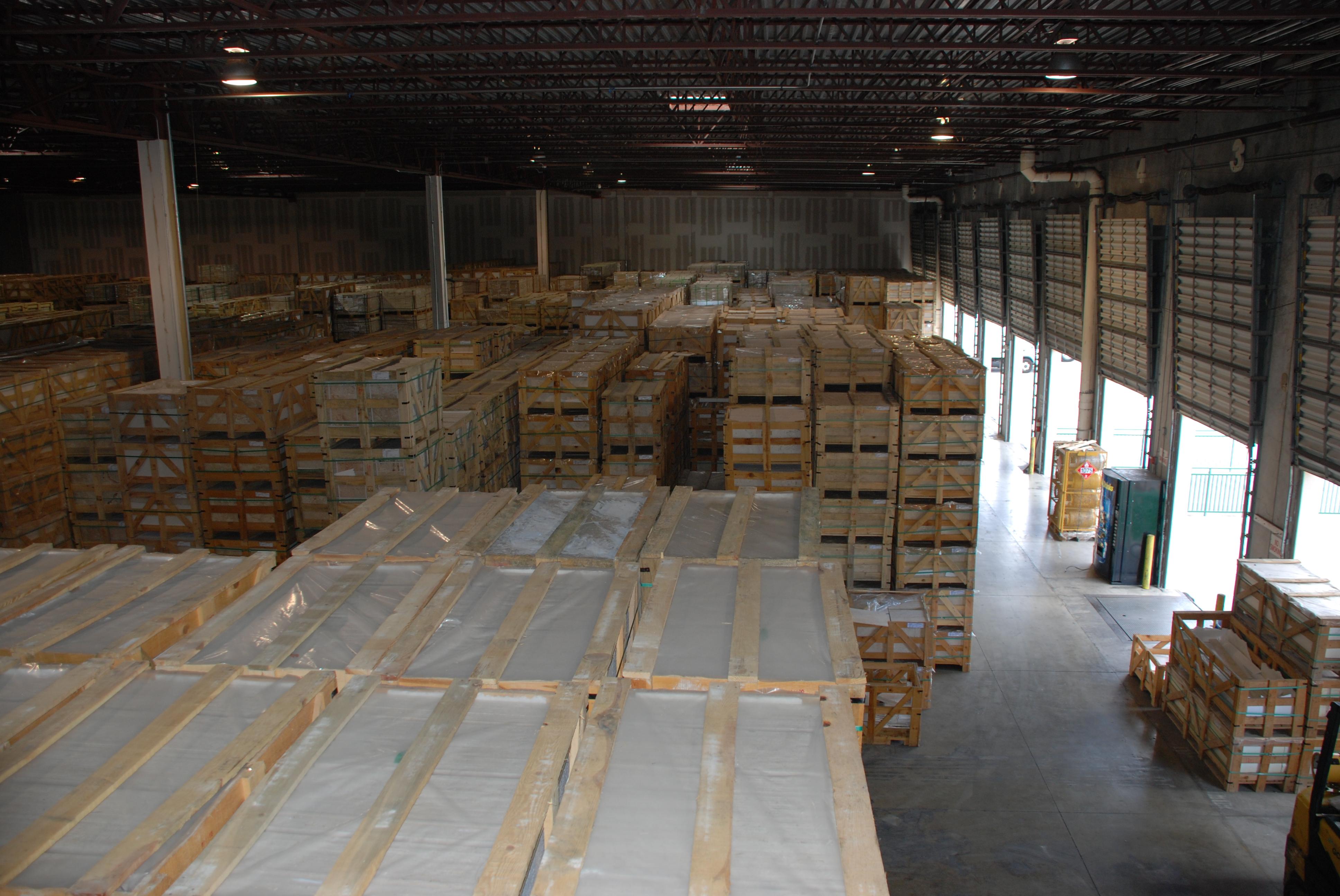 Atlantic Stone Source warehouse