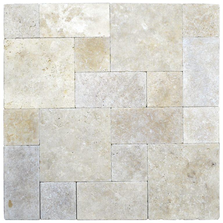 Super Light Roman Pattern Tumbled Pavers-pavers sale-Atlantic Stone Source