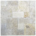 Toscana Roman Pattern Tumbled Pavers-pavers sale-Atlantic Stone Source